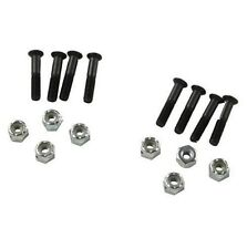 "SKATEBOARD HARDWARE TRUCK MOUNTING 1"" 8 BOLTS + 8 NUTS SET(TORNILLOS)- LONGBOARD"