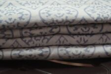 Indian Hand Block Print Fabric 100% Cotton Crafting By White Coloured 20 Yard