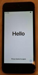 Apple iPhone SE - 16GB - Space Grey (Locked to O2 / Tesco Mobile) - Read Descrip