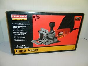 Craftsman Professional 6.5A Plate Joiner 10,000 RPM 900.277303 New In Box