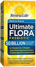Ultimate Flora Extra Care 50 Billion, Renew Life, 30 capsule