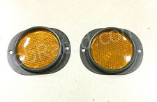2 MILITARY NEW AMBER REFLECTOR MS35387-2  M37 M998 M35 M813 M35A2