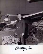 CHRISTOPHER LEE PSA DNA Coa Hand Signed Bond 007 8X10 Photo Autograph Authentic