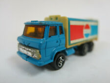 HO blue 3 axle Soft Drink (Pepsi?) truck.  Made in China. No box