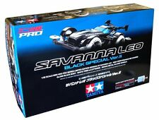 TAMIYA MINI 4WD LIMITED SAVANNA LEO BLACK SPECIAL VER II 94728 MS CHASSIS RARE