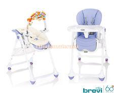 Chaise haute Brevi B.Fun Lilas Lavande b Fun 0-36 bouillie enfance bébé