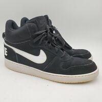 Nike Court Borough Mid Black White Men's Retro Shoes Size 11 Basketball