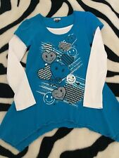 Girls Size 12 Hankey Style Longsleeve Top - Looks Gr8 With Jeans or Leggins New