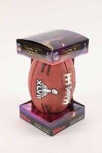 2013 NFL Authentic Super Bowl XLVII The Duke Wilson Retail Football Game Ball