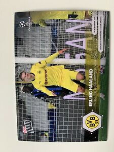 Topps Now  # 022 ERLING HAALAND - FASTEST TO 15 UEFA CHAMPIONS LEAGUE GOALS