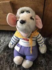 Little Reggie Soft Toy - Hasbro Vintage 1983/1984 Plush Roland Rat Tv Show