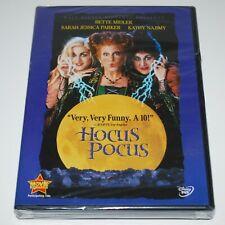 Hocus Pocus DVD 1993 Disney SEALED Bette Midler Sarah Jessica Parker Halloween