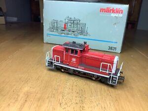 Marklin 3631 Digital HO Gauge 3 Rail DB 0-6-0 Class 361 Diesel Loco