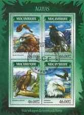 Timbres Oiseaux Aigles Mozambique 6015/8 o année 2014 lot 23311 - cote :17 €