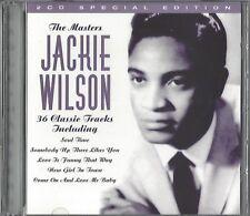 JACKIE WILSON / THE MASTERS - 36 CLASSIC TRACKS * NEW 2CD 1997 * NEU *