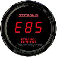 Zeitronix ECA-2 Ethanol Content Analyzer plus Gauge Red NO SENSOR