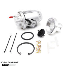 Universal Aluminum Turbo Blow Off Valve with Adapter Kit for SQV4 SSQV IV Silver