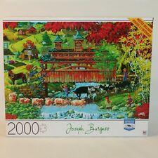 2000 Piece Jigsaw Puzzle By Joseph Burgess 'Washday Bridge' from Mb Cardinal