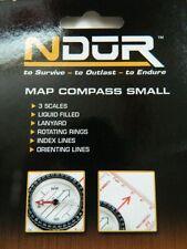 Proforce Equipment Ndur Map Compass (Small)Hiking,Backpacking,lanyard~FAST SHIP