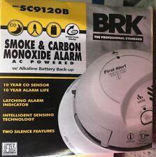 First Alert BRK SC9120B Hardwire Combination Smoke Carbon Monoxide Alarm 2017