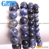 Handmade XMAS Jewelry Gift Beaded Sodalite Stretchy Stone Bracelet Free Shipping