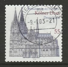 Germany 2003 UNESCO World Heritage Sites. Cologne (Self-adhesive) SG 3210 FU
