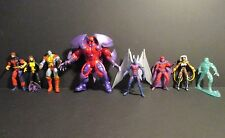 Marvel Universe 3.75 X-Men lot Magneto Archangel Colossus IceMan STORM Kitty