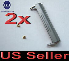 2x New Hard Drive Caddy Cover + screw for Dell Latitude D620 D630 MF267