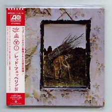 "LED ZEPPELIN ""IV"" 4 ZOSO Japan Rare Out of Print OOP Gatefold Mini-LP CD New"