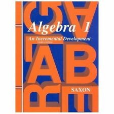 Saxon Algebra 1: Algebra 1 by John Saxon (1997, Hardcover) with test and answers