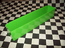 4 BRIGHT GREEN DEEP DRAWER TOOL BOX TRAY snap 2 use on inside/ small parts tools