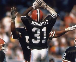 FRANK MINNIFIELD CLEVELAND BROWNS  8X10 SPORTS PHOTO (X)