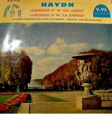 HANS JURGEN-WALTHER/HAMBOURG les adieux/surprise HAYDN+