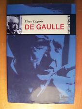 LIBRO - PIERO LUGARO - DE GAULLE - ,ARTI GRAFICHE 2002