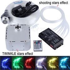 32w RGBW Twinkle LED Fiber Optic Star Ceiling Light Kit 800pcs*0.75mm*4m Meteor