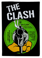 THE CLASH COTTON PATCH WHITE MAN IN HAMMERSMITH PALAIS RECORD COVER PUNK 1977