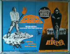 Cinema Poster: KINGDOM OF THE SPIDERS/THE REDEEMER 1978 (QUAD) William Shatner