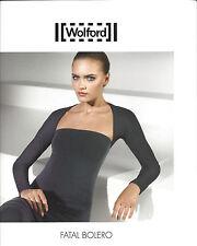 WOLFORD Fatal Bolero • S • white  ... Unbändig lebendig: Kurzes Bolerojäckchen