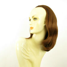 DT Half wig HairPiece extensions coppery golden brown 15.7  REF :21/30