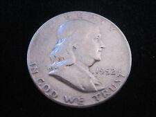 "MDS USA HALF DOLLAR 1952 D ""BENJAMIN FRANKLIN - FREIHEITSGLOCKE"", SILBER #19"