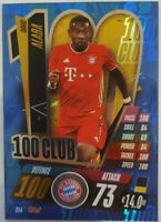 2020/21 Match Attax UEFA Champions League - David Alaba 100 Club Bayern Munich