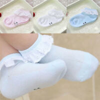 Colors Ruffle Summer Girls Kids Lace Cotton Socks Ankle Socks Baby Socks Mesh