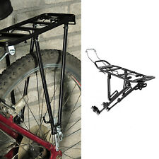 Bike MTB Bicycle Rear Pannier Rack Carrier Seat Bracket Luggage Carrier w/ Flap