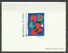Reunion France Juan Miro Tableaux Paintings Epreuve Deluxe Die Proof ** 1974