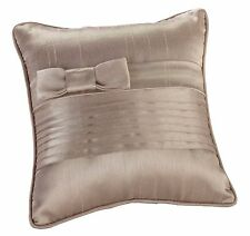 Pleated Taupe Ring Pillow