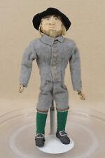 "10"" vintage Hand Made Stockinette Rag Cloth Soldier Doll"