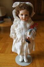 "Wendy Lawton 14"" 70th Anniversary Marcella and Raggedy Ann Porcelain Doll"