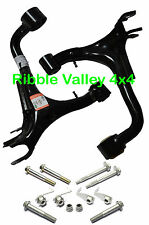 LAND ROVER DISCOVERY 3 REAR UPPER SUSPENSION ARMS RH + LH WISHBONES + BOLT KITS