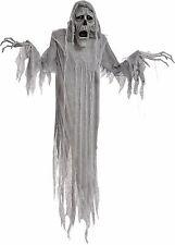 Halloween LifeSize Animated 72'' LIGHT UP EYES HANGING PHANTOM Prop Haunted Hous