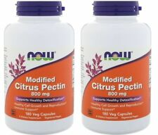 Now Foods - Modified Citrus Pectin, 800 mg, 180 Veg Capsules - 2 Packs